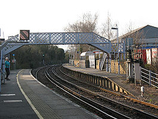 Wikipedia - Aylesford railway station