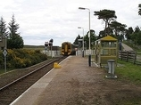 Wikipedia - Kinbrace railway station