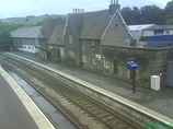 Wikipedia - Knighton railway station