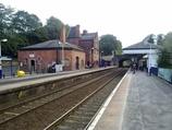 Wikipedia - Knutsford railway station