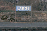 Wikipedia - Largs railway station