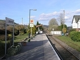 Wikipedia - Llanwrda railway station