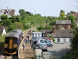 Wikipedia - Lympstone Village railway station