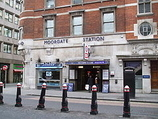 Wikipedia - Moorgate railway station