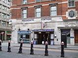 Wikipedia - Moorgate railway station