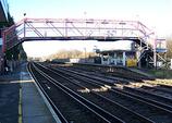 Wikipedia - Newington railway station