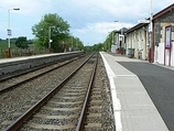 Wikipedia - Barrhill railway station