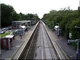 Wikipedia - Overton railway station