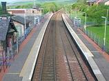 Wikipedia - Sanquhar railway station