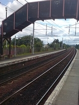 Wikipedia - Bellshill railway station