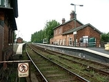 Wikipedia - Wainfleet railway station