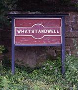 Wikipedia - Whatstandwell railway station