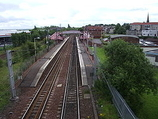 Wikipedia - Whifflet railway station