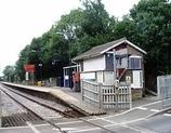 Wikipedia - White Notley railway station