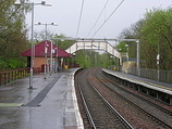 Wikipedia - Williamwood railway station