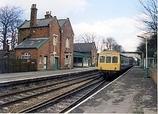 Wikipedia - Woodley railway station