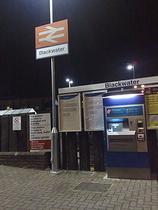 Wikipedia - Blackwater railway station