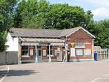 Wikipedia - Buxted railway station