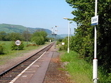 Wikipedia - Caersws railway station