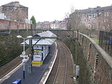 Wikipedia - Crosshill railway station