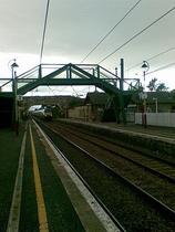Wikipedia - Drem railway station