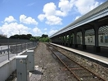 Wikipedia - Falmouth Docks railway station