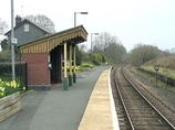 Wikipedia - Garth (Powys) railway station